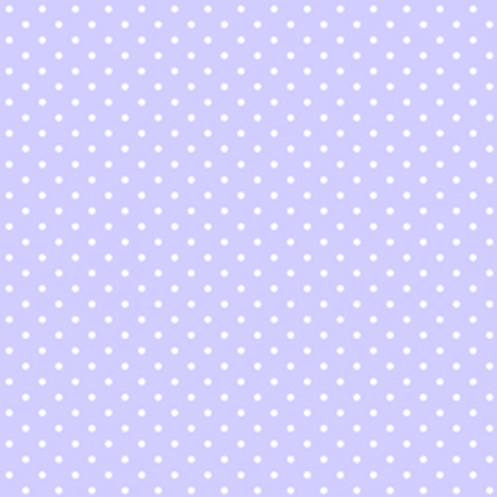 Periwinkle Dot Fabric