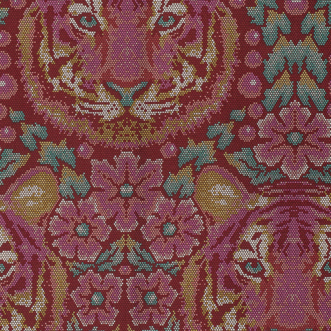 Tourm Crouching Tiger Tula Pink Fabric