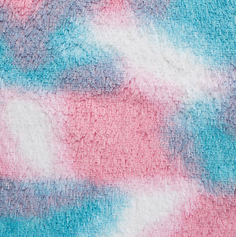 Cotton Candy Shaggy Cuddle Minky Fabric
