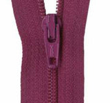 "Raisin 14"" Zipper"