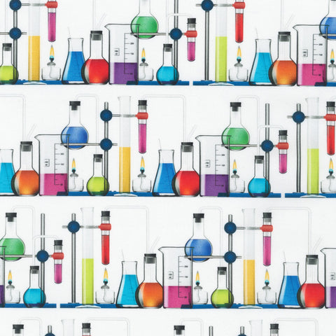 Bright Idea Science Fair Fabric