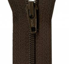 "Coffee Bean 14"" Zipper"
