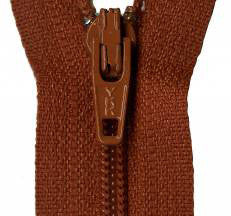 "Gingerbread 14"" Zipper"