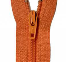 "Orange Peel 22"" Zipper"