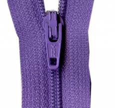 "Princess Purple 14"" Zipper"