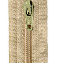 "Straw 14"" Zipper"