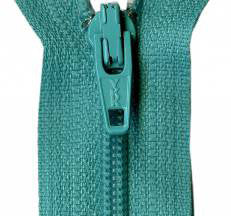 "Tahiti Teal 14"" Zipper"