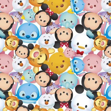 Disney Tsum Tsum Fleece Fabric