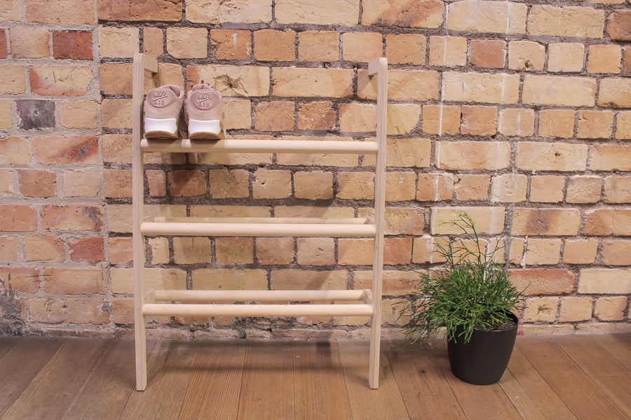 Lean-ah Shoe Rack