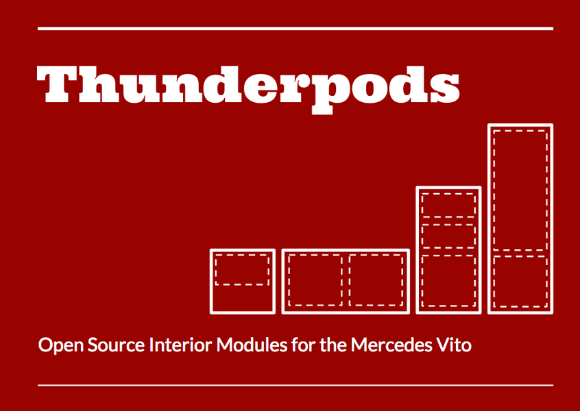Mercedes – Hack-my-Van Competition – ThunderPods