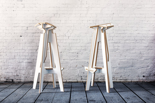 Banco-Up! Stool - Estudio Parrado
