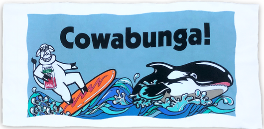 Cowabunga Beach Towel