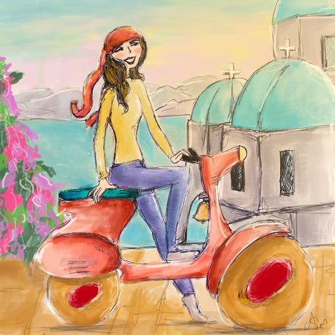 Morning Ride by Anica Ignacio
