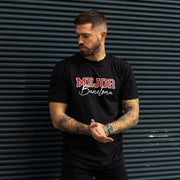 Signature 'Barcelona' Tee - Jet Black - Mejor Clothing