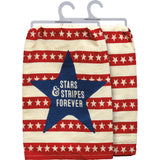 Stars and Strips Forever Dish Towel