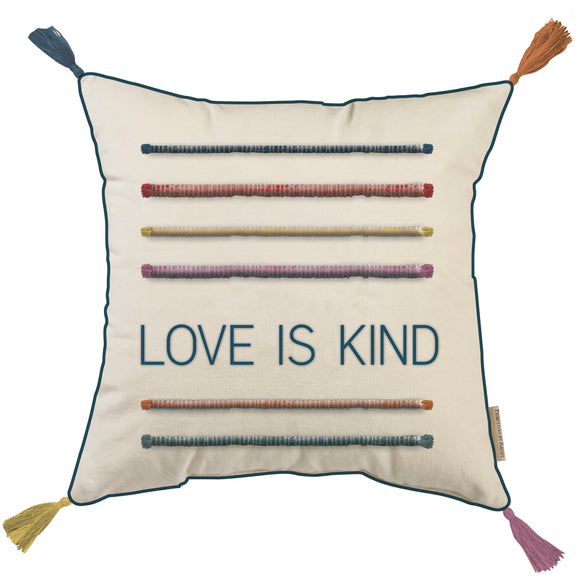 Love is Kind Throw Pillow