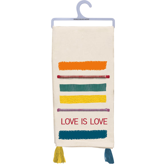 Love is Love Dish Towel