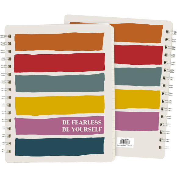 Be Fearless Be Yourself Pride Notebook
