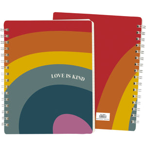 Love is Kind Pride Notebook