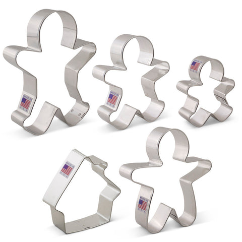 Gingerbread Cookie Cutter Set - SolagoHome