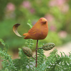 Terra Cotta Bird Plant Pick