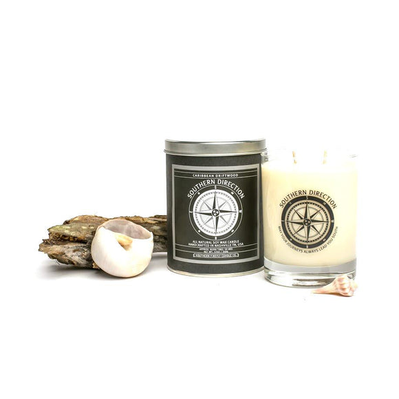 Southern Direction Soy Candle - Caribbean Driftwood - SolagoHome