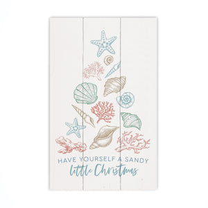 Have Yourself a Beachy Little Christmas Wall Decor