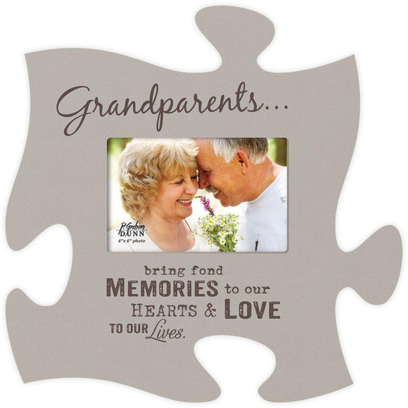 Grandparents Puzzle Photo Frame - SolagoHome