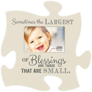 Largest of Blessings Puzzle Photo Frame - SolagoHome