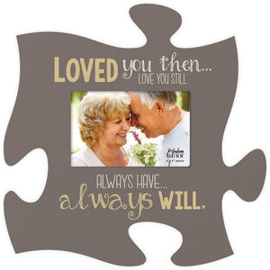 Love You Puzzle Photo Frame - SolagoHome