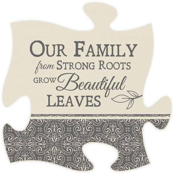 Family Roots Puzzle Piece - SolagoHome