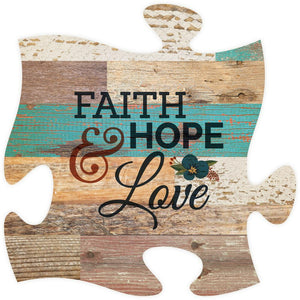 Faith Puzzle Piece - SolagoHome