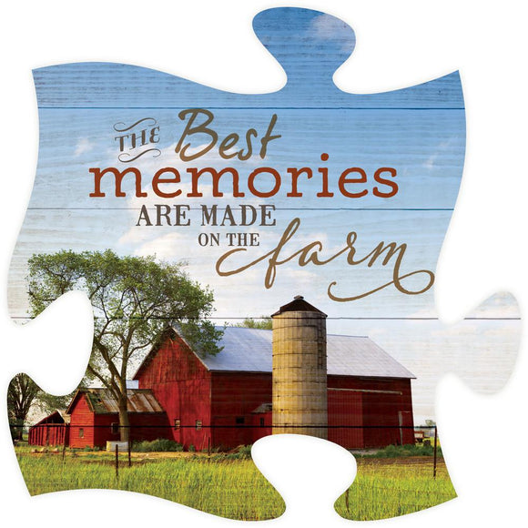 Best Memories Puzzle Piece - SolagoHome