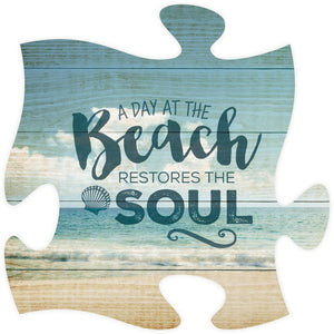 Beach Soul Puzzle Piece - Blemished/Seconds - SolagoHome