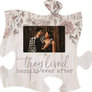 They Lived Happily Photo Frame