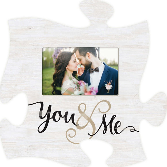 You and Me Puzzle Photo Frame
