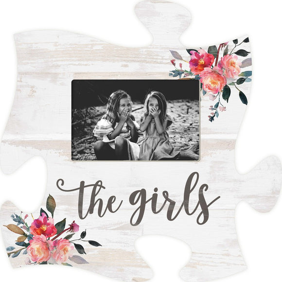 The Girls Puzzle Photo Frame