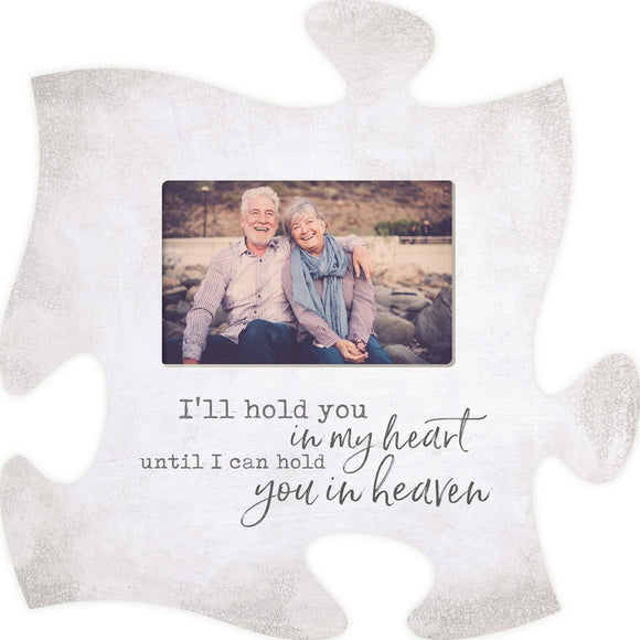 I'll Hold You Puzzle Photo Frame