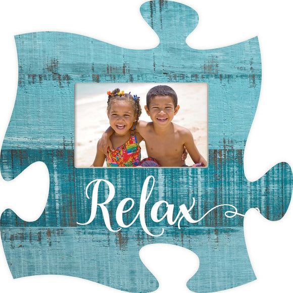 Relax Puzzle Photo Frame