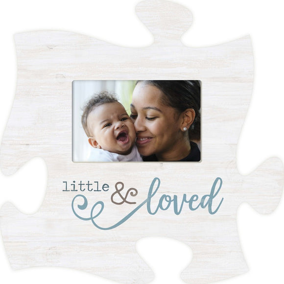 Little and Loved Puzzle Photo Frame