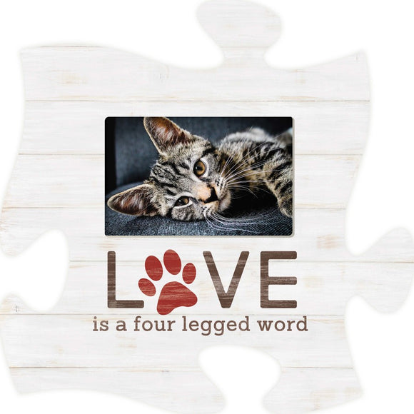 A Four-legged Word Puzzle Photo Frame