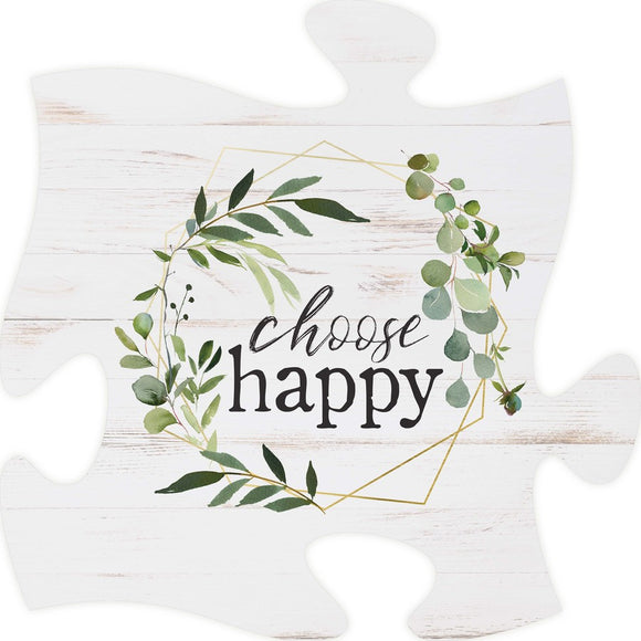 Choose Happy Puzzle Piece