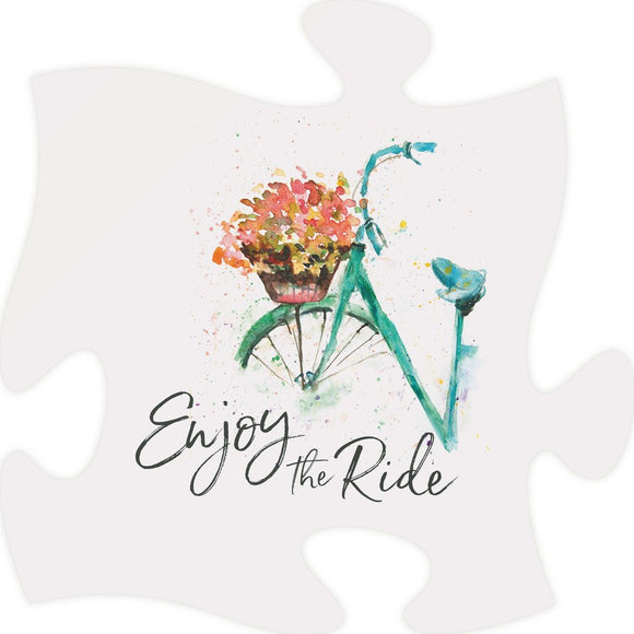 Enjoy the Ride Puzzle Piece
