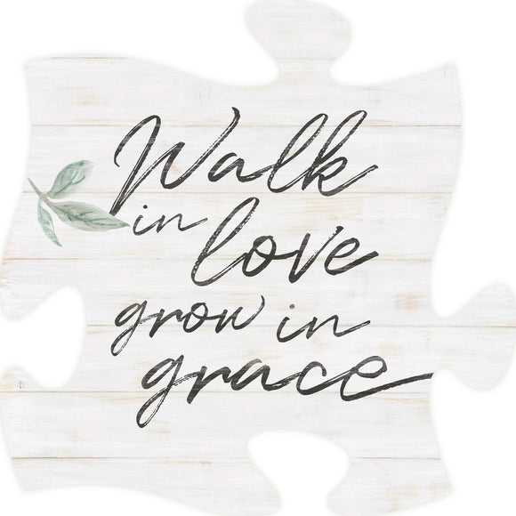 Walk in Love Puzzle Piece