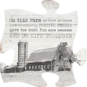 On This Farm Puzzle Piece
