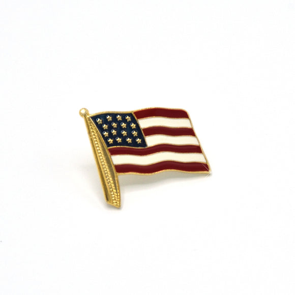 Solago Home American Flag Pin
