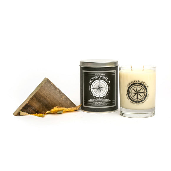 Southern Direction Soy Candle - Tobacco Barn - SolagoHome
