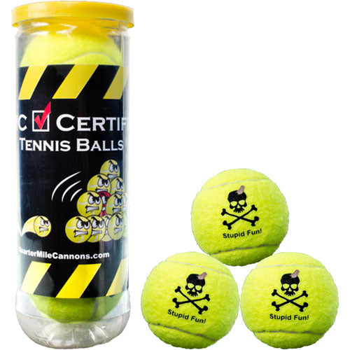 QMC Certified Tennis Balls - Set of 3