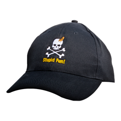 "Black QMC ""Stupid Fun"" Cap"