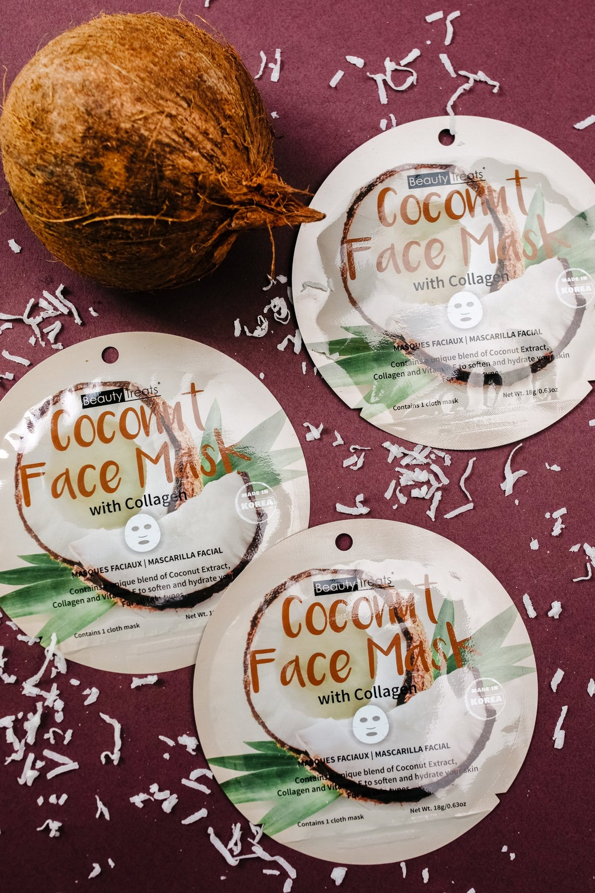 Time for You Face Mask in Coconut